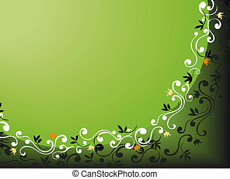 kwiatowy, tło