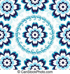 kwiatowy wzór, seamless