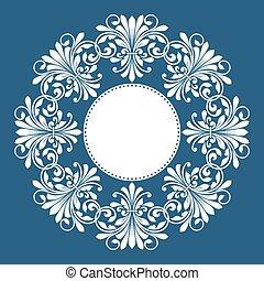 kwiatowy wzór, zaproszenie, card.