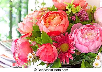 kwiaty, bukiet