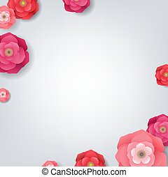 kwiaty, karta