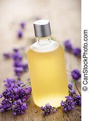 kwiaty, lawenda, istotny olej