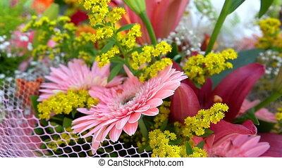 kwiaty, skład