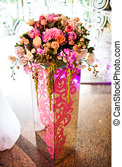 kwiaty, w, niejaki, wazon