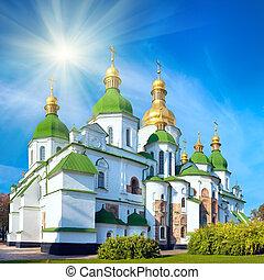 kyiv, escena, ciudad