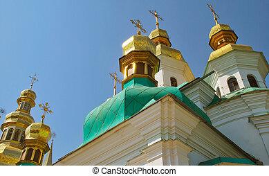kyivo-pechers'ka, lavra, kijów, ukraina