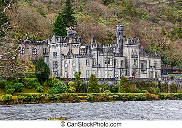 Kylemore Abbey in Ireland - Kylemore abbey the most famous...
