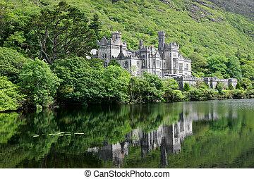 kylemore, castillo, abadía