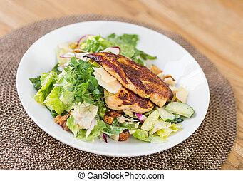 kylling caesar salat