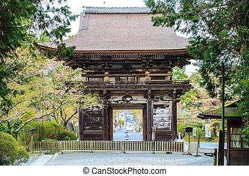 Sanjeong Temple with nice sakura at spring season - Kyoto, ...