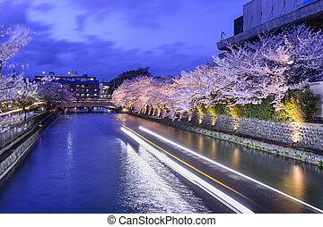 Kyoto Japan Okazaki Canal - Kyoto, Japan on the Okazaki ...