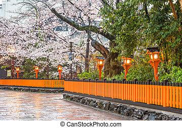 Kyoto, Japan Spring Street