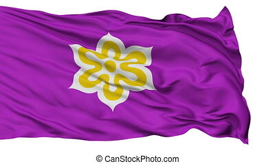Kyoto Prefecture Isolated Flag - Flag of Kyoto Prefecture, ...
