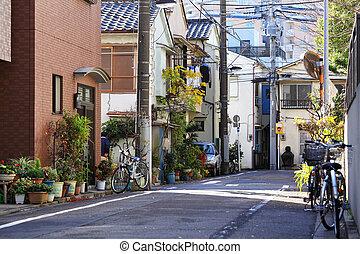kyoto, rua, vista