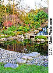 Kyoto waterfalls