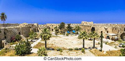 Kyrenia (Girne) castle in Cyprus island