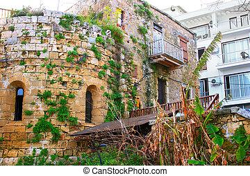 Kyrenia, old town