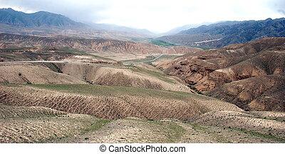 kyrgyz, geologico, formazioni