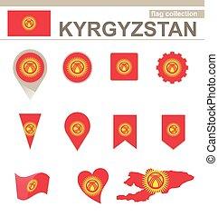 Kyrgyzstan Flag Collection