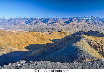 kyrgyzstan, paesaggio