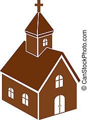 kyrka, ikon