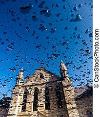 kyrka, reflexion