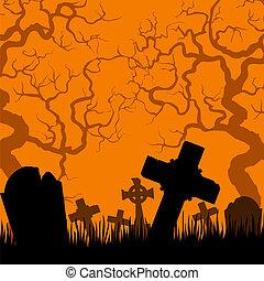 kyrkogård, gammal
