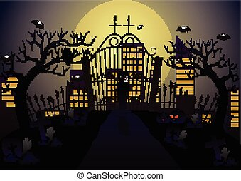 kyrkogård, vampyr