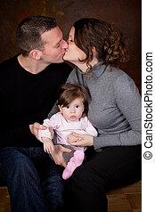kyssande, föräldrar