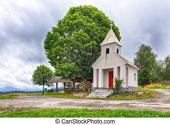 Kysuce Chapel in Zablatie