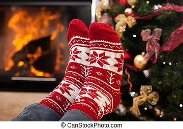lábak, melegítés