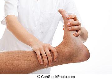 lábfej, rehabilitáció