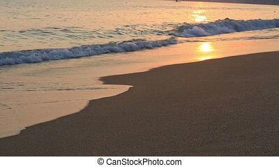 lábnyom, homok
