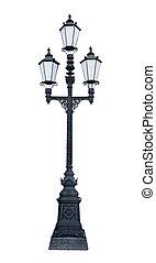 lámpaoszlop, háromszoros