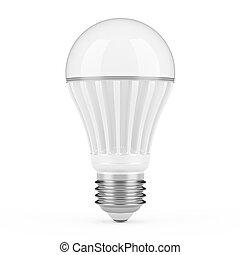 lámpara, moderno, fue adelante