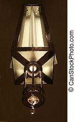 lámpara, viejo