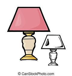 lámparas de la tabla
