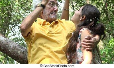 lányunoka, buta, nagyapa