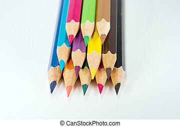 lápices, colorido