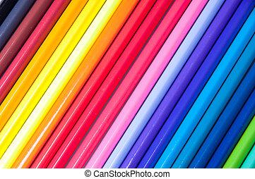 lápices, multicolor