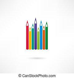 lápis, ícone