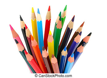 lápis, colorido