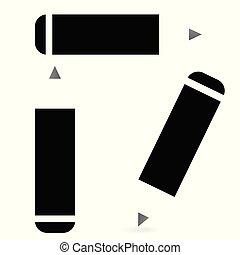 lápis, jogo, ícone
