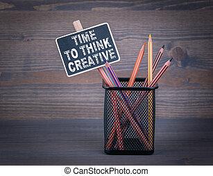 lápiz, coloreado, pizarra, Tiza, creativo, madera, Plano de fondo, tiempo, pequeño, pensar