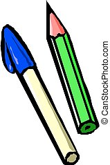 lápiz, pluma