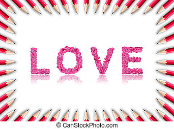 láska, konstrukce