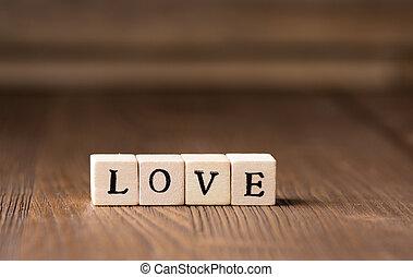 láska, message.