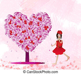 láska, strom