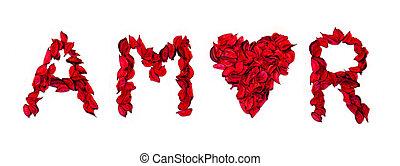láska, vzkaz