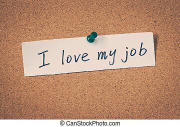 láska, zaměstnání, můj